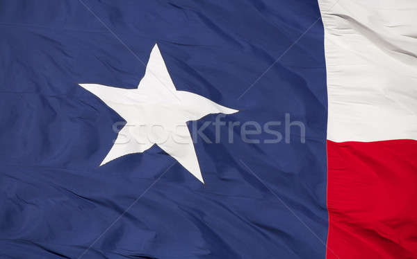 State Flag of Texas Stock photo © 33ft
