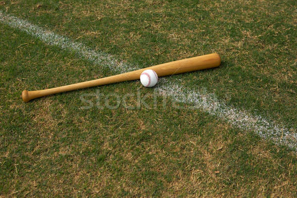 Baseball & Bat Stock photo © 33ft