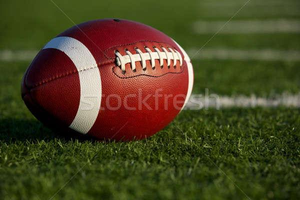 アメリカン サッカー フィールド ルーム コピー ストックフォト © 33ft