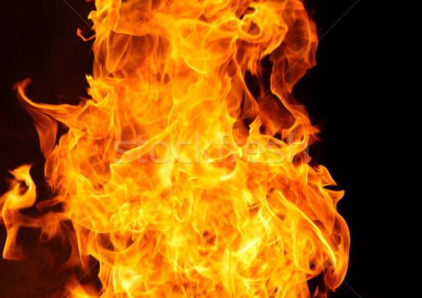 火災 難 燃焼 背景 黄色 バーベキュー ストックフォト © 33ft