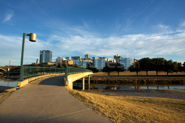 Downtown Fort Worth Texas Stock photo © 33ft