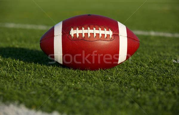 アメリカン フットボールの競技場 ルーム コピー スポーツ 大学 ストックフォト © 33ft