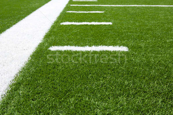 American Football Field Yard Lines Stock photo © 33ft