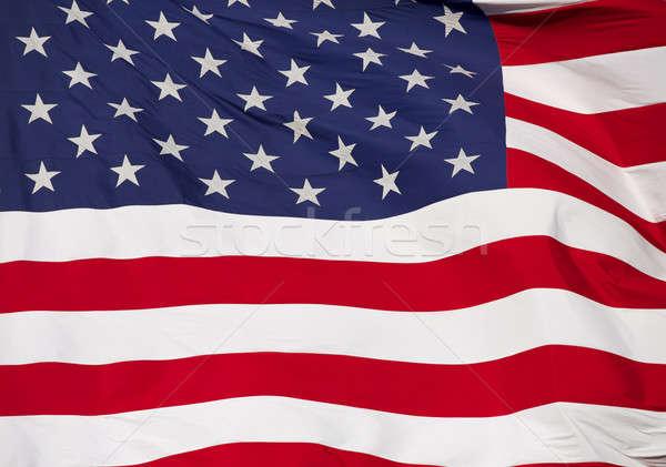 Unites States Flag Close Up Stock photo © 33ft