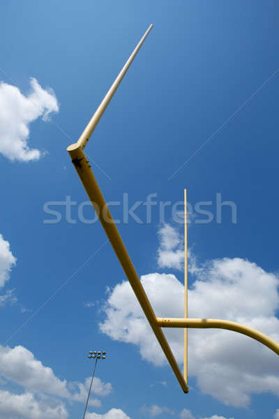 American Football Field Goal Posts Stock photo © 33ft