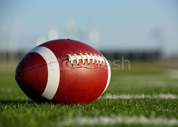 Collegiate Football Stock photo © 33ft