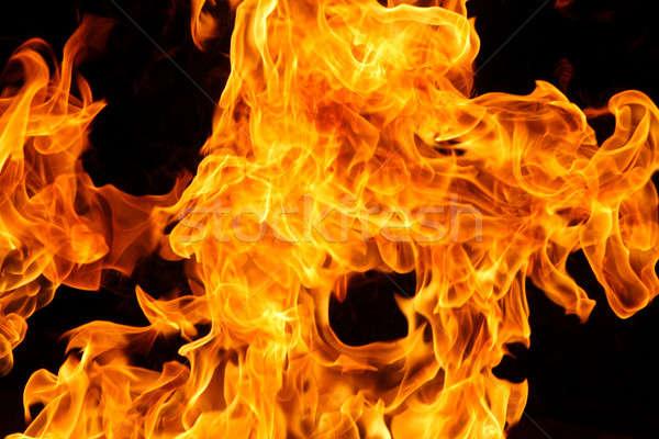 火災 難 詳細 燃焼 背景 黄色 ストックフォト © 33ft