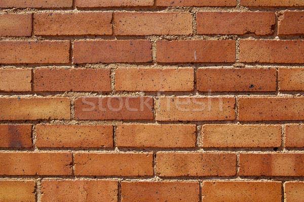 Burnt Orange Bricks Stock photo © 33ft