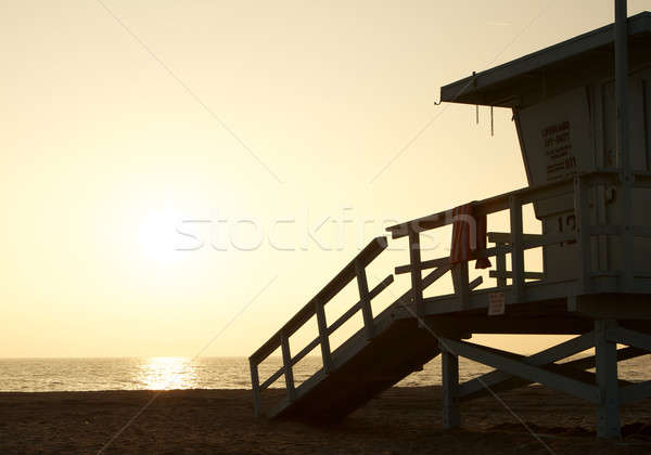 California bagnino stazione tramonto Foto d'archivio © 33ft