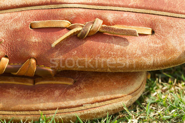 Baseball Glove Close Up Stock photo © 33ft