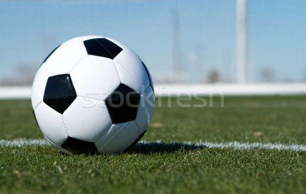 サッカーボール 目標 ルーム コピー サッカー スポーツ ストックフォト © 33ft