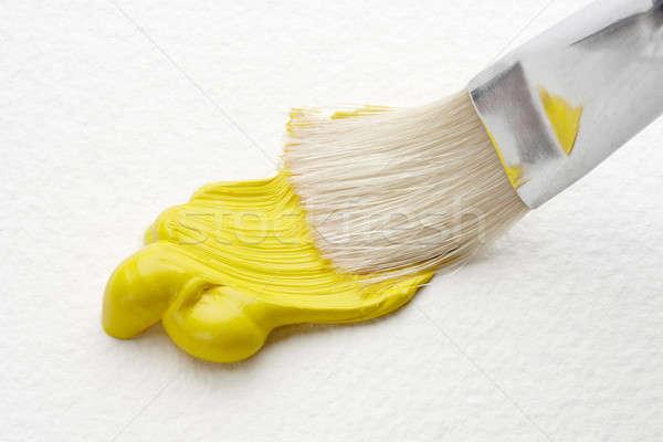 Tiro amarelo arte cor Foto stock © 350jb
