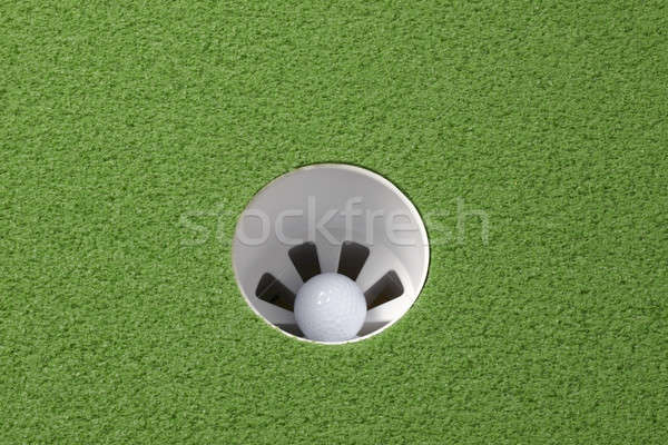 Hole in one! Stock photo © 350jb