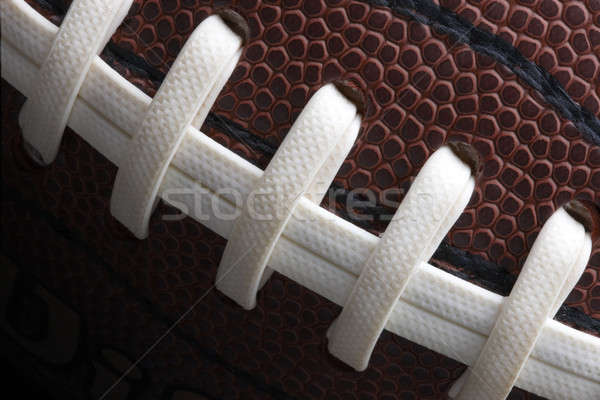 Macro shot of football Stock photo © 350jb