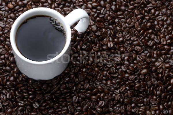 Кубок кофе кофе выстрел области пространстве Сток-фото © 350jb