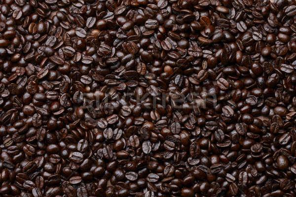кофе полный кадр выстрел пространстве скопировать бумаги Сток-фото © 350jb