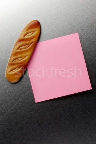French bread refrigerator magnet Stock photo © 350jb