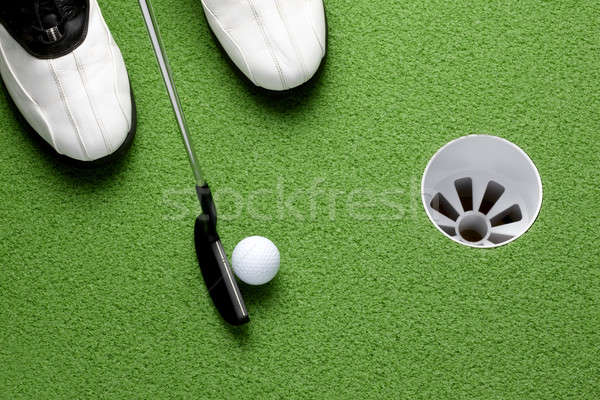 The putt Stock photo © 350jb