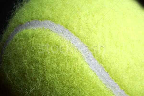 Bola de tênis macro tiro amarelo espaço copiar Foto stock © 350jb