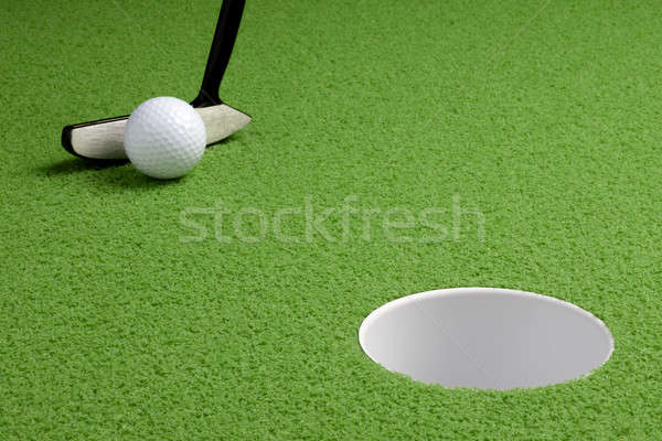 Short putt Stock photo © 350jb
