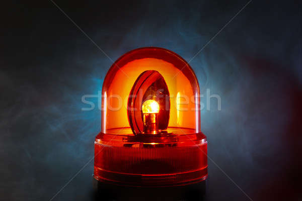 Red police light Stock photo © 350jb
