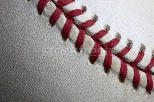 Stitches of a baseball Stock photo © 350jb