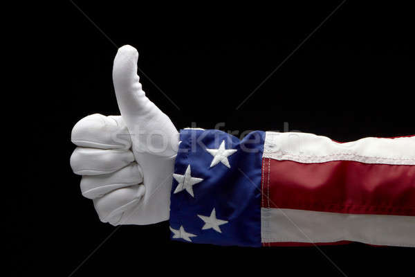 Uncle Sam gives a Thumb's Up Stock photo © 350jb