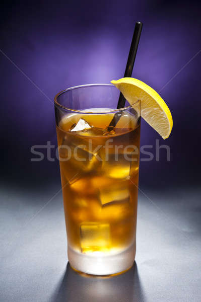 Hosszú sziget ice tea jég ital szín Stock fotó © 3523studio