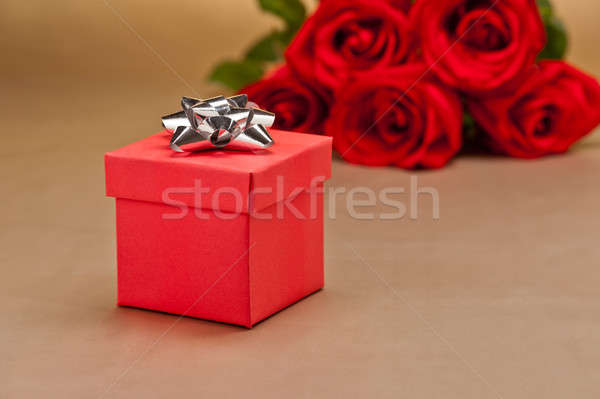Foto d'archivio: Presenti · rose · beige · fiore · wedding · amore