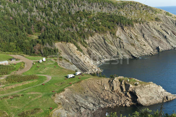Meat Cove camp ground, Cape Breton Island Stock photo © 3523studio