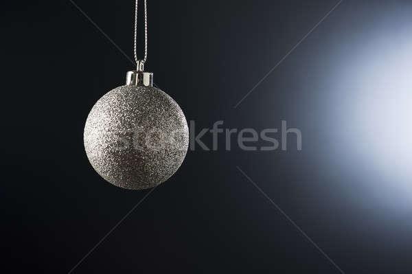 Natale gingillo semplice colore lato illuminazione Foto d'archivio © 3523studio