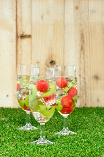 Kiwi Melon Sangria  Stock photo © 3523studio