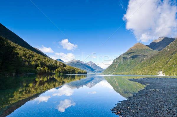 Lake Gunn south island of New Zealand Stock photo © 3523studio
