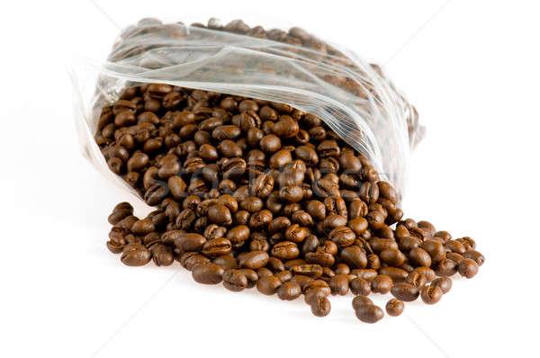 Hill of coffee grains Stock photo © 3523studio