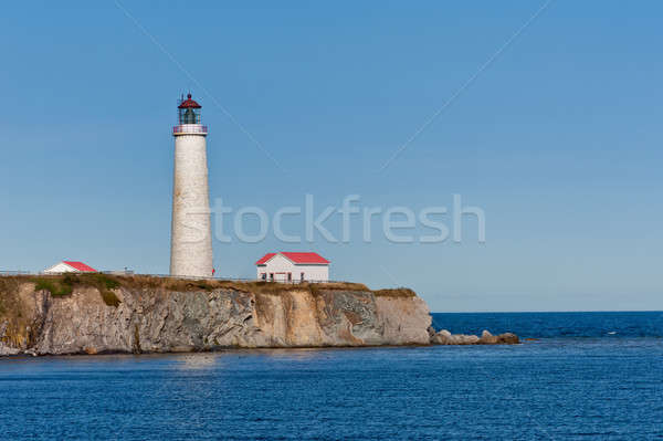Cap des rosiers lighthouse during a cloudless day Stock photo © 3523studio