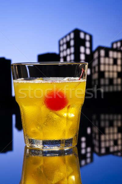Skrew Driver cocktail Stock photo © 3523studio