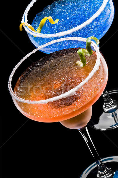 Cobalt and Peach Margarita Stock photo © 3523studio