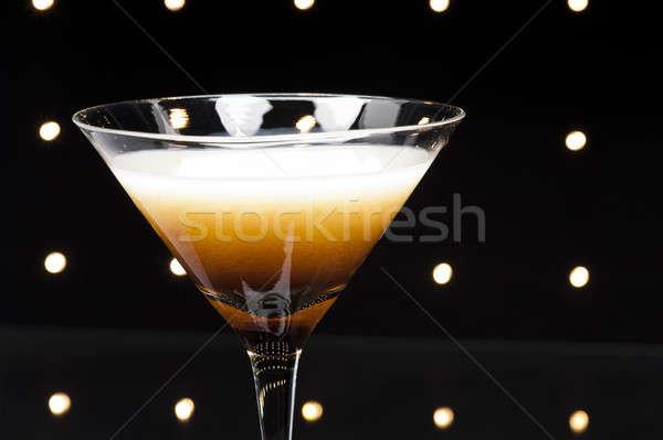 Café martini coquetel discoteca luzes bar Foto stock © 3523studio