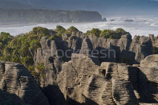 punakaiki pancake rock, New Zealand  Stock photo © 3523studio