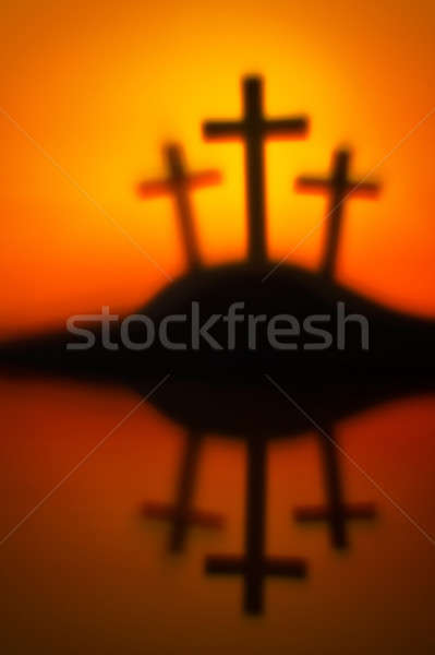 Three crosses Stock photo © 3523studio