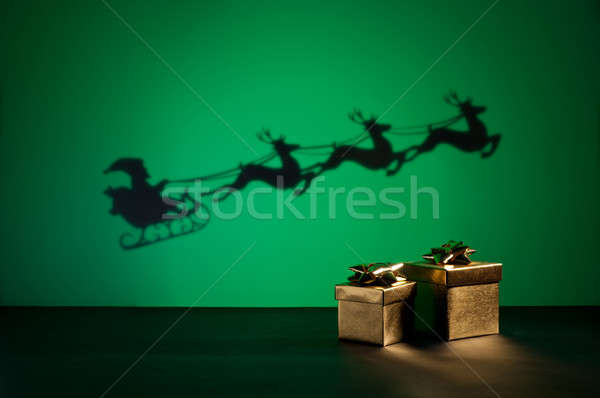 Santas sledge Stock photo © 3523studio