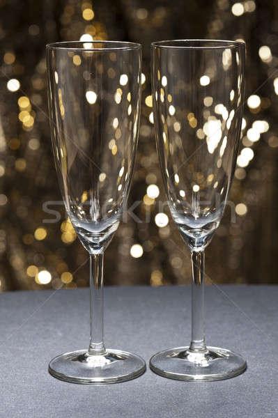Stock fotó: üveg · csillámlás · arany · buli · absztrakt · bár