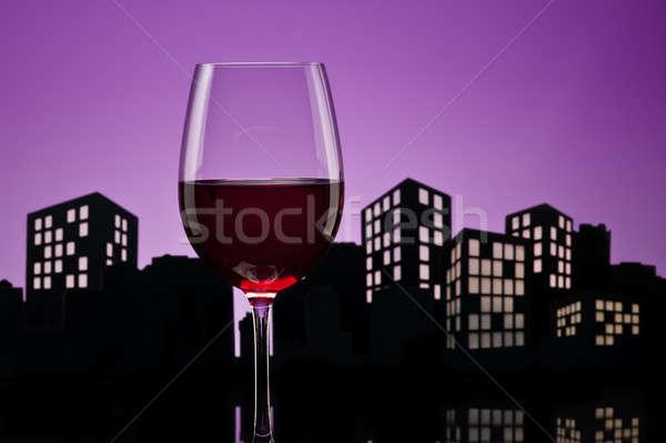 метрополия вечеринка рождения ресторан Сток-фото © 3523studio