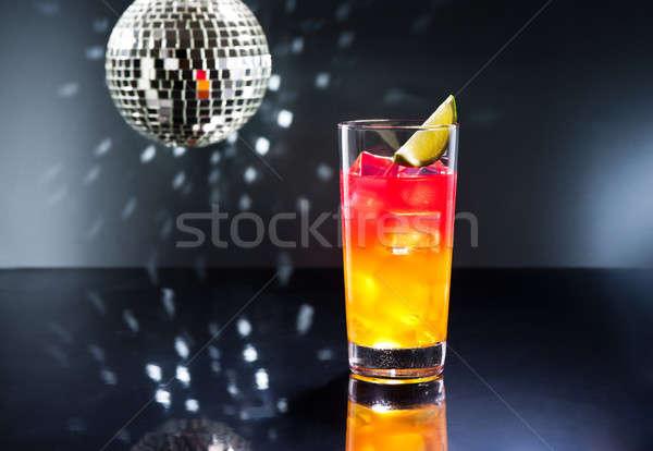 Tequila napfelkelte koktél történet ital első Stock fotó © 3523studio