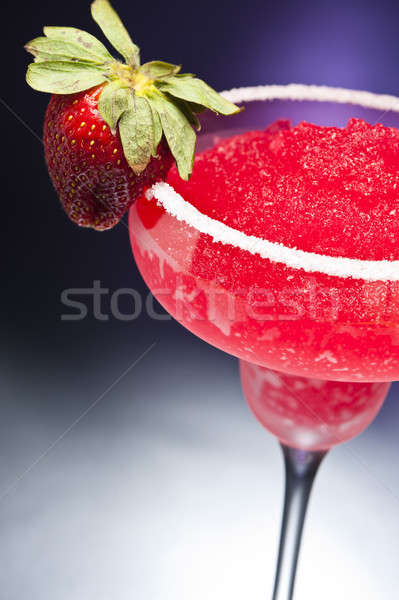 Strawberry margarita Cocktail Stock photo © 3523studio