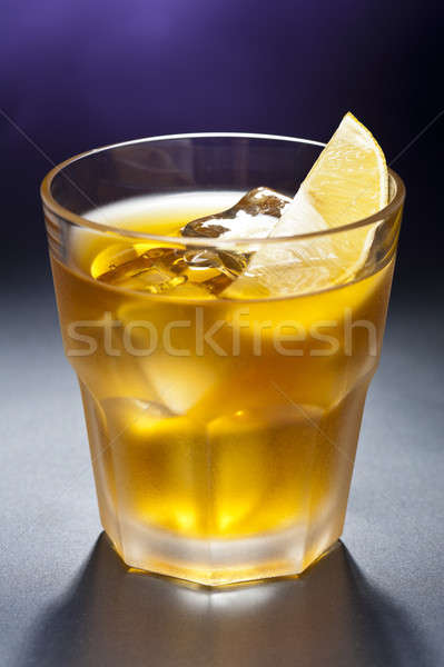 Rusty Nail Cocktail Stock photo © 3523studio