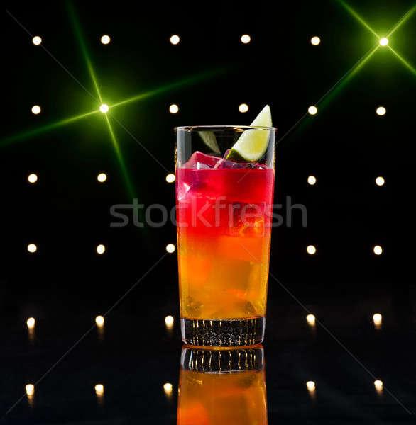 Tequila Sunrise cocktail Stock photo © 3523studio