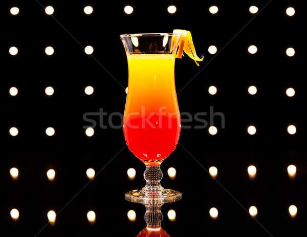 текила Восход коктейль дискотеку фары вечеринка Сток-фото © 3523studio