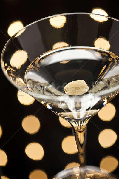 Tánctér szép világítás víz üveg bár Stock fotó © 3523studio