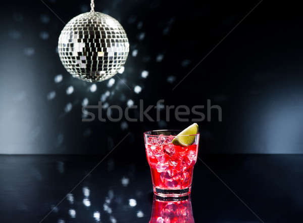 Red Campari Cocktail  Stock photo © 3523studio
